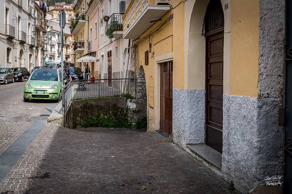 Just off via Garibaldi - the portal to the old Jewish Quarter