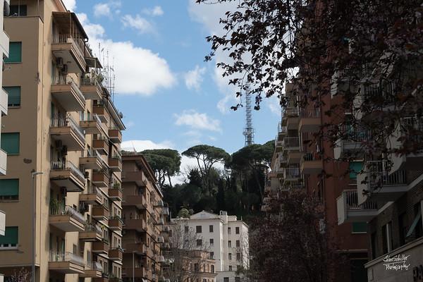 Where we stayed - in the neighborhoold of Viali degli Ammiragli