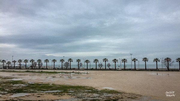 Along the coast in Barletta...