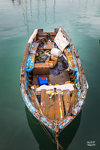 The boat colors of Trani