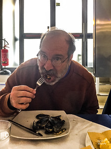 And yes - that's really me eating oysters!