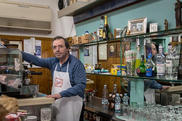 Our server at Bar Tourismo
