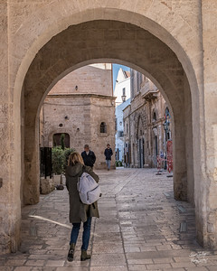 Entrance to the historic part of Polignano
