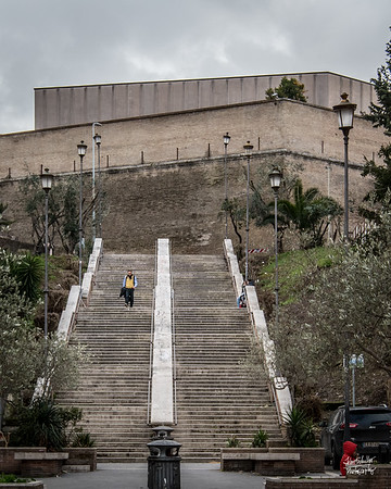 "The ""Easy Steps"" up to the Vatican"