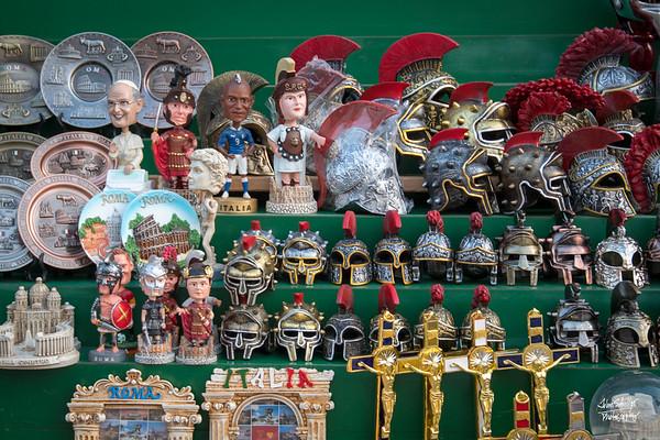 You can always buy a Boblehead Pope along Via della Conciliazione
