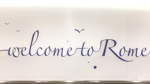Welcome to Rome!