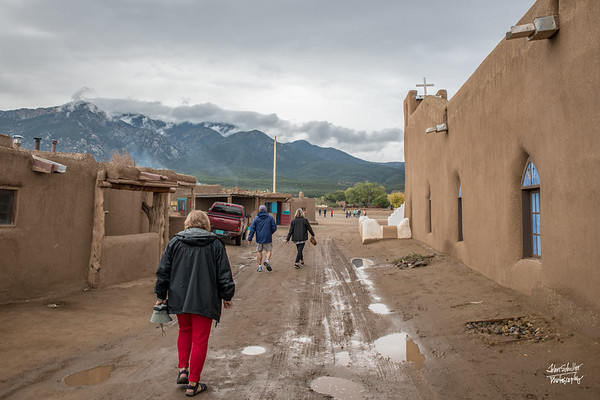 Shot at the Taos Pueblo, NM on October 5, 2017.  © John Schiller Photography