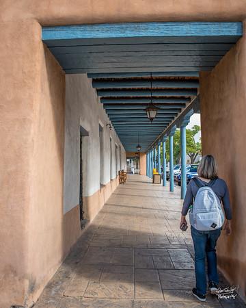 Shot in Santa Fe Plaza in Santa Fe, NM on October 6, 2017 © John Schiller Photography around Santa Fe, NM on October 6, 2017 © John Schiller Photography