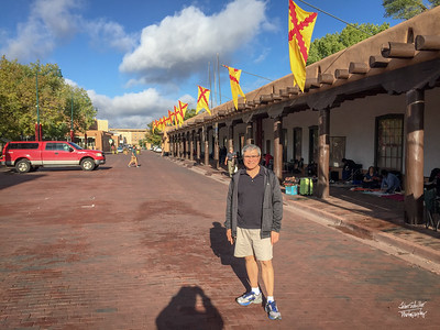Shot in Santa Fe Plaza in Santa Fe, NM on October 6, 2017 © John Schiller Photography