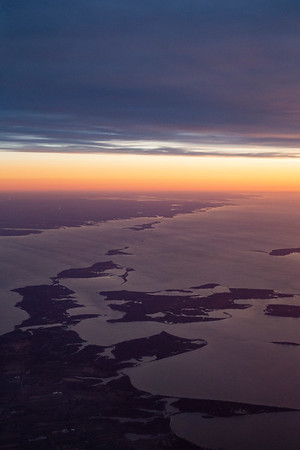 The North Fork of Long Island and neighboring islands along eastern Long Island Sound
