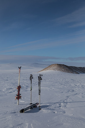 Two kilometers in from the edge of the ice sheet