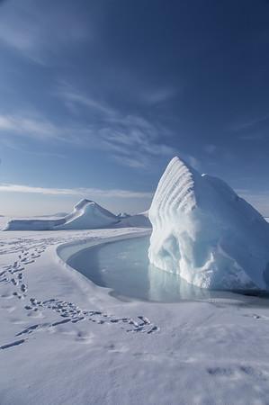 The first iceberg