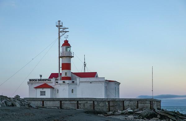 I hit the eastern entrance to the Strait of Magellan: Punta Delgada