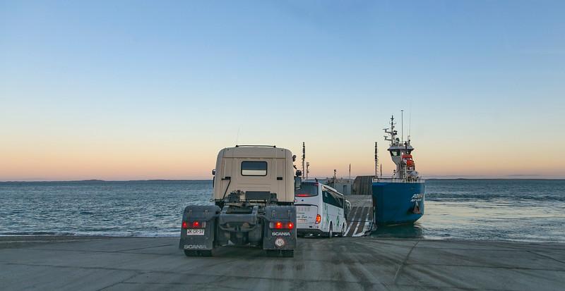The ferry to Tierra del Fuego