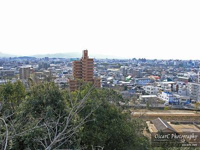 Matsuyama skyline