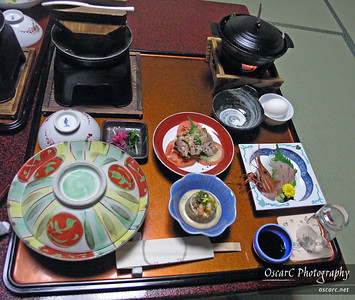 Dinner at the Ryokan for 1 person