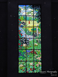 Stained glass window (Shinagawa Prince, Tokyo)