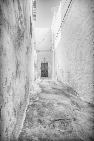 Mysterious doors found in lanes of Hammamet's medina.