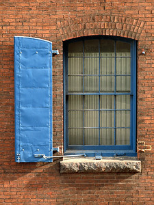 Blue Window #3