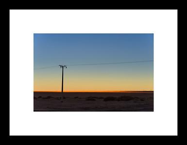 Camino en el desierto