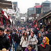 Busy Istanbul Market Street