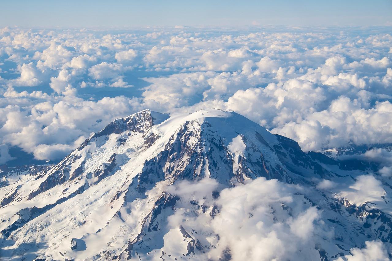 Mt Rainier from the Air