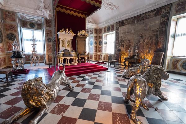 Inside the Rosenborg Castle
