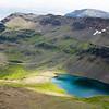 Wildhorse lake at 9000 feet.