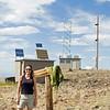 Plenty of radiation on the peak.  Solar and microwave...