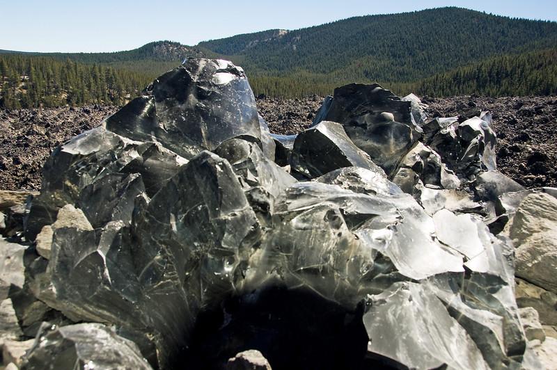 Big 'ol chunk of obsidian.