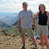 Here we are...the happy vacation couple on the top of the Steens.  <br /> <br /> <br /> The End.