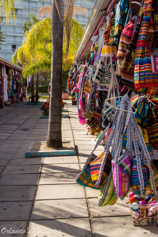 Shopping strips in Port Lucaya.