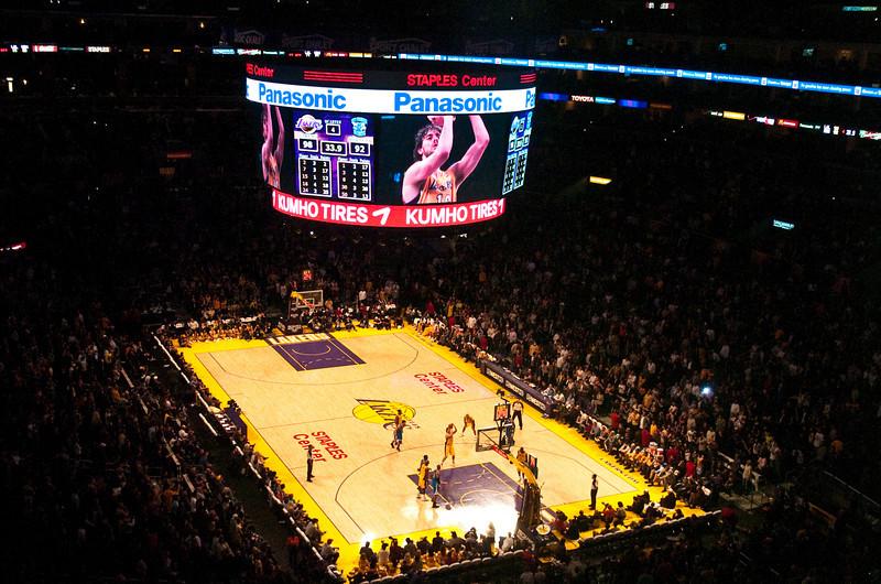 Lakers vs Hornets-37