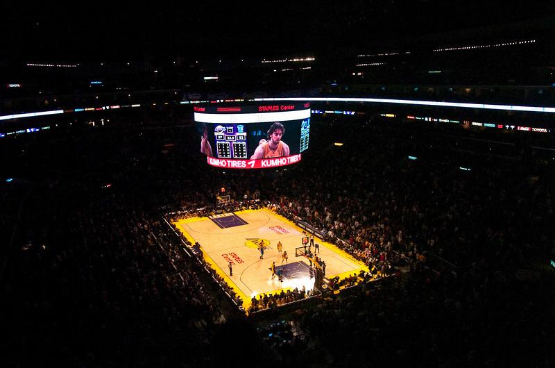 Lakers vs Hornets-34