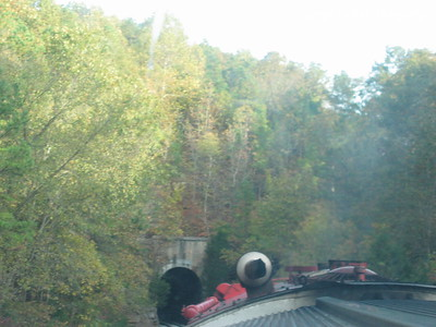 October 17, 2003  View from the train