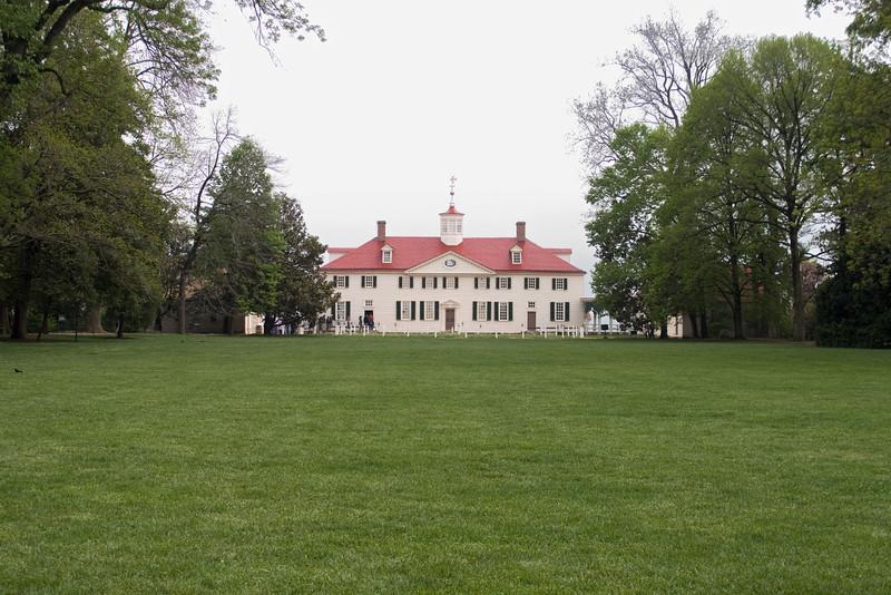 George Washington's house in Mount Vernon