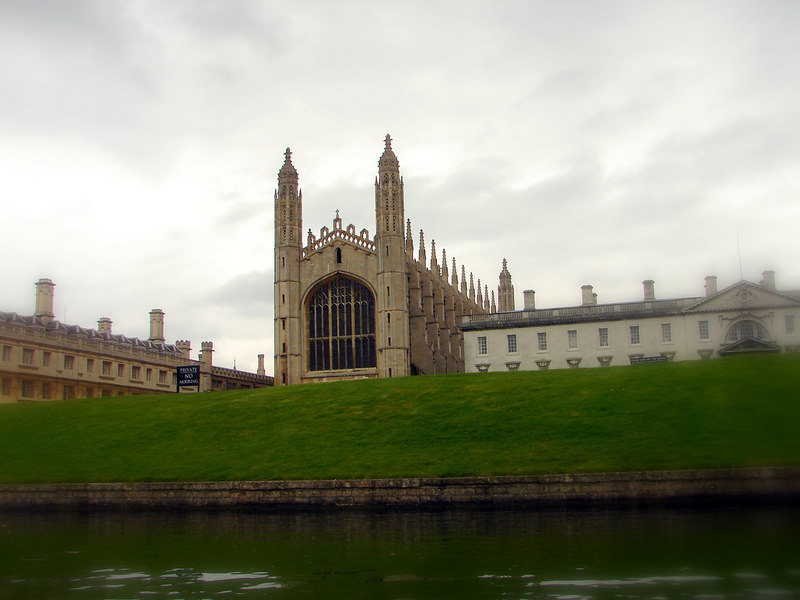 I think this is Kings College. And it is named that for a reason.