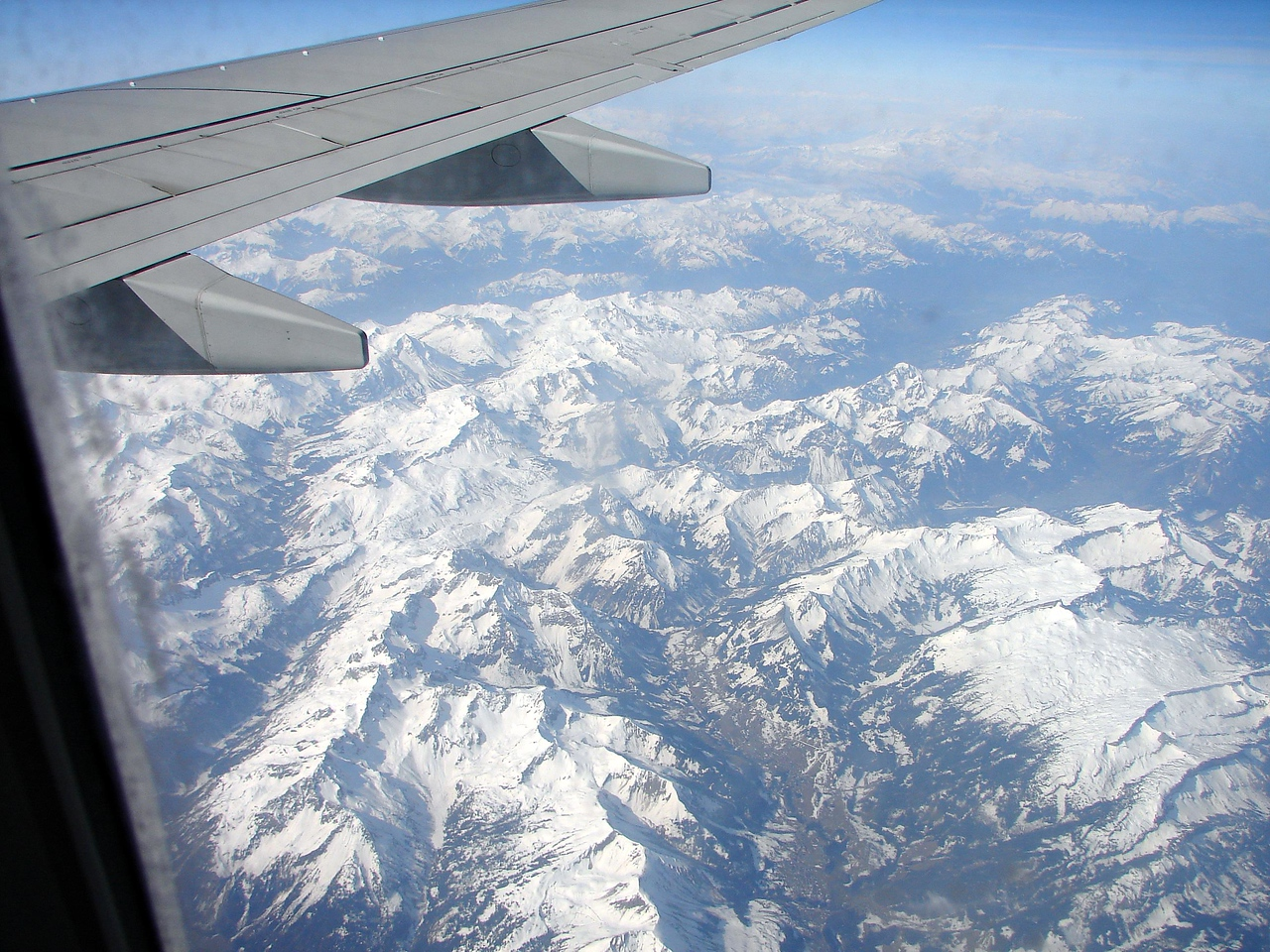The Alps en route from england to italy. mmmmm.
