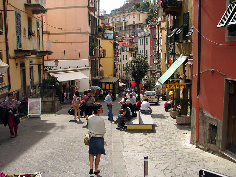 Arriving in Cinque Terra. Easily one of the craziest places i've ever been to.