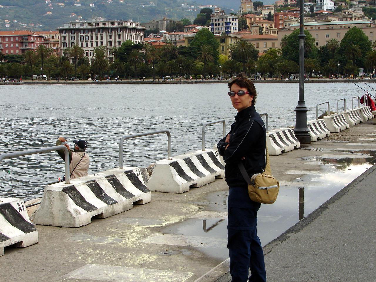 """the main city outside of Cinque Terra is """"La Spezia"""", a 7min 1.5 euro train ride takes you there."""