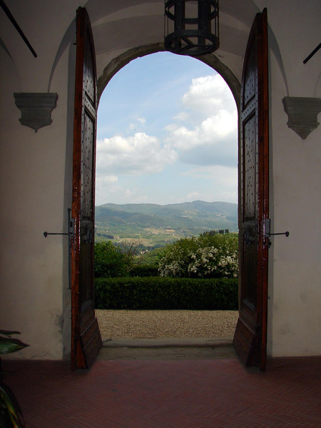 View from the courtyard