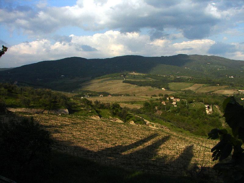 Dawn in Toscana.