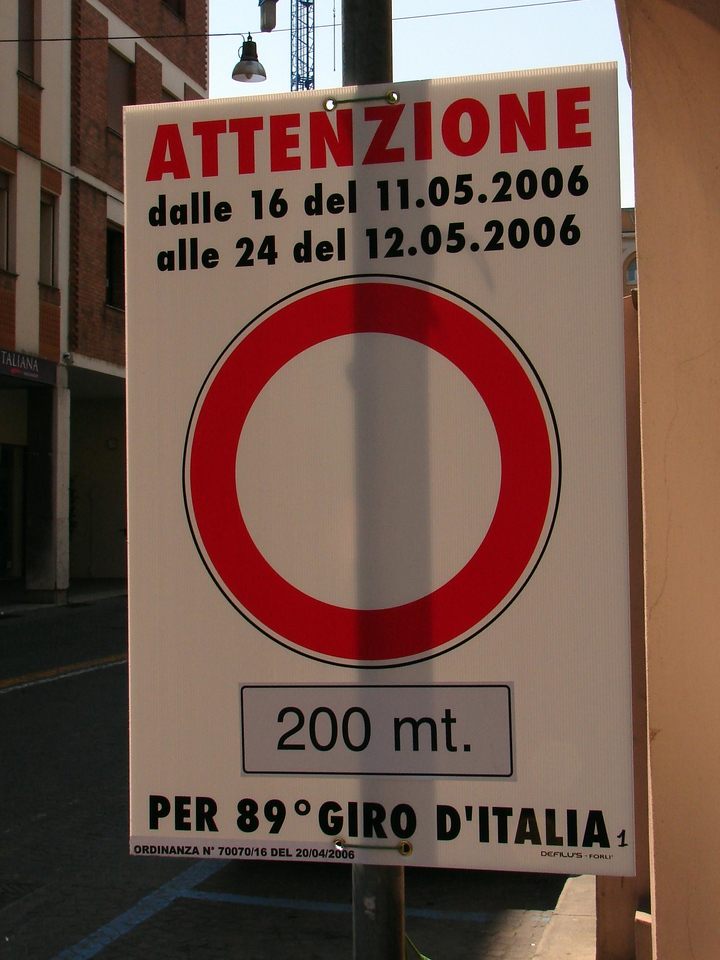 A flat sprint stage Six of the Giro will roll though here.
