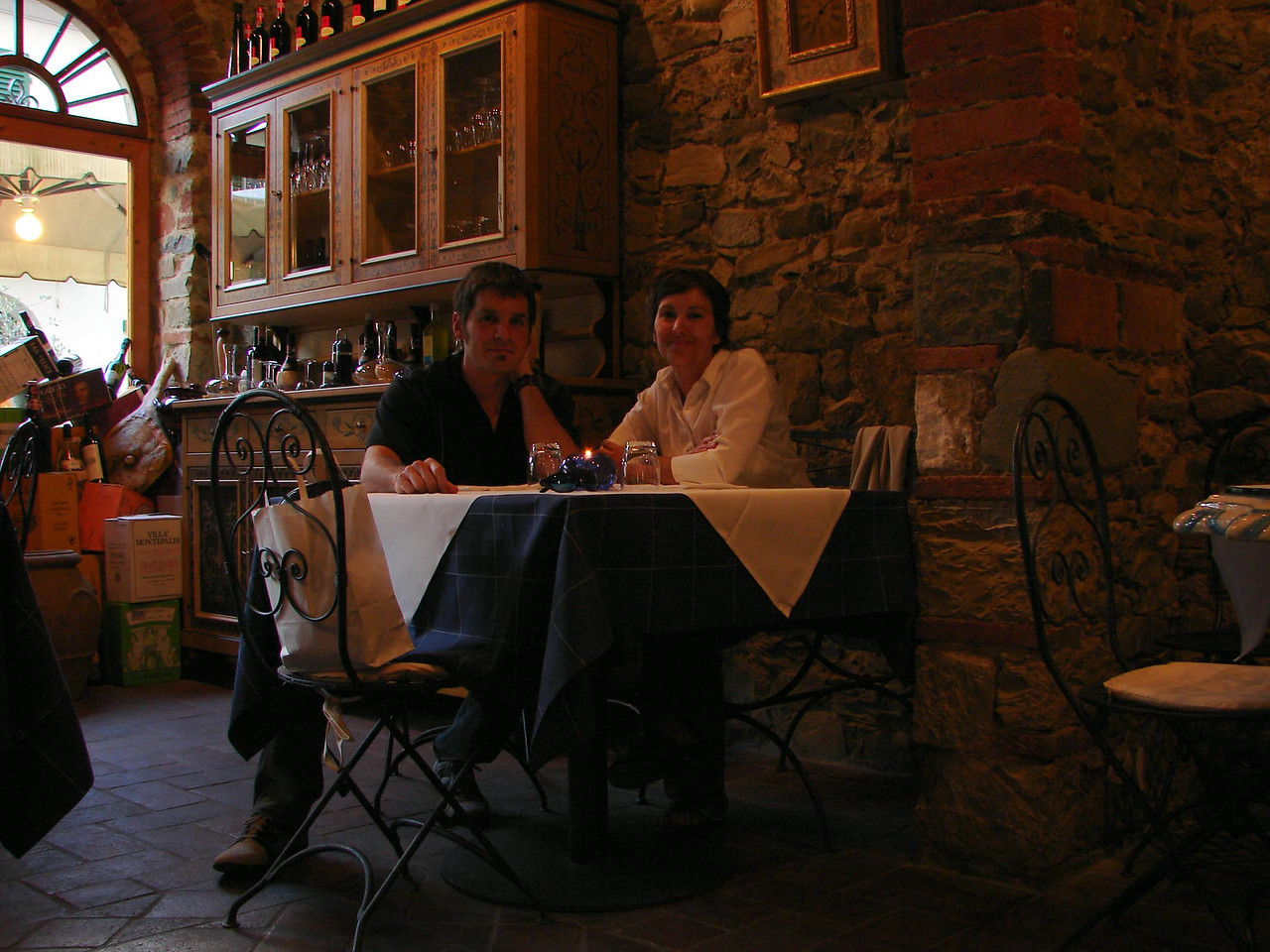 Our favorite restaurant on the whole trip. Trattoria di Borgo. Excellent food. The waitress, Valaria was a gem.