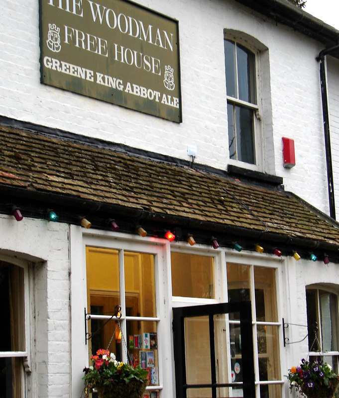 The Woodman has won awards for its Pubness. fun spot.