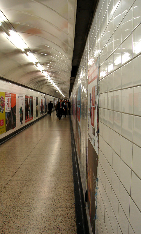 to and from the tube.