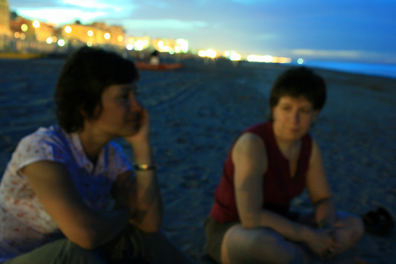its as out of focus as we all were the last few nights. sitting on the beach at 10pm after a fantastic meal with no worries in the world.