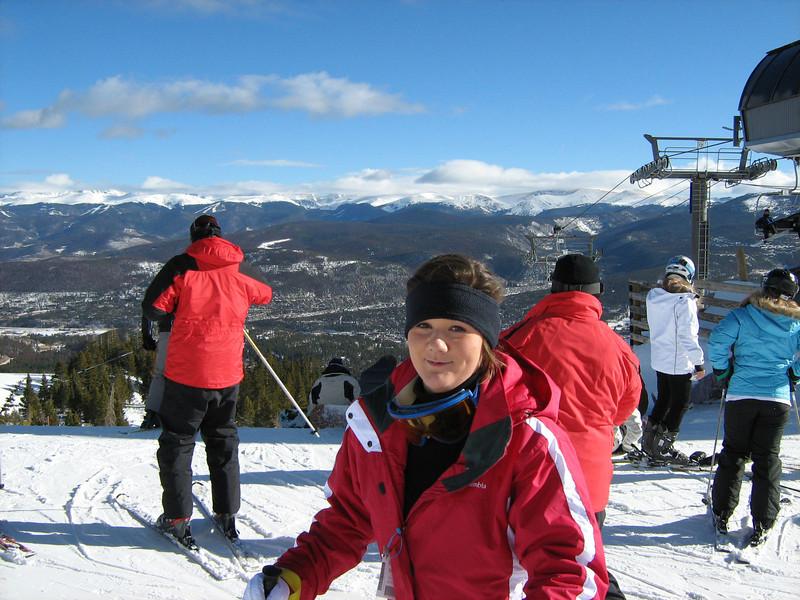 Top of the Mountain, Go Girl!