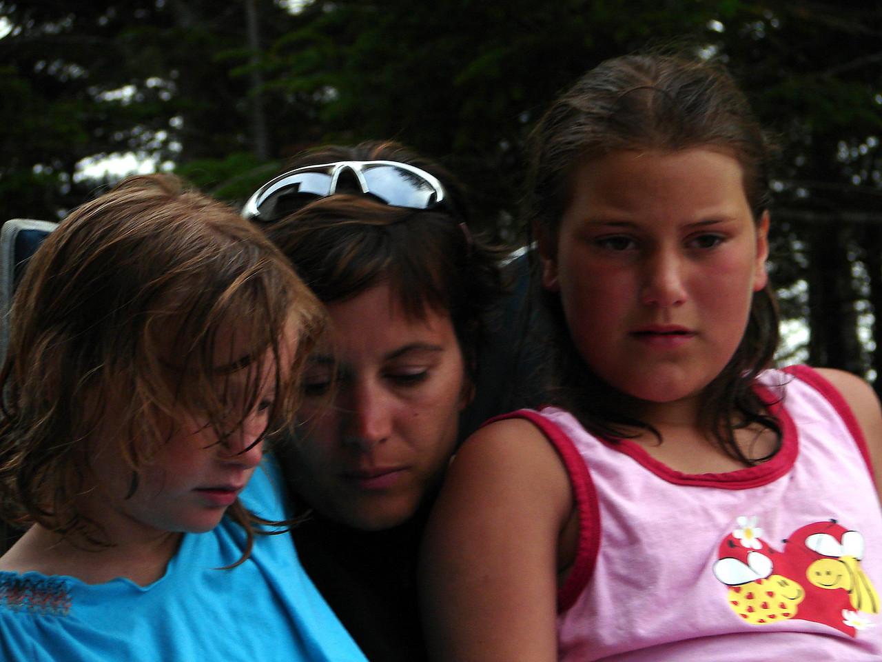 Nicole, me and Stephanie