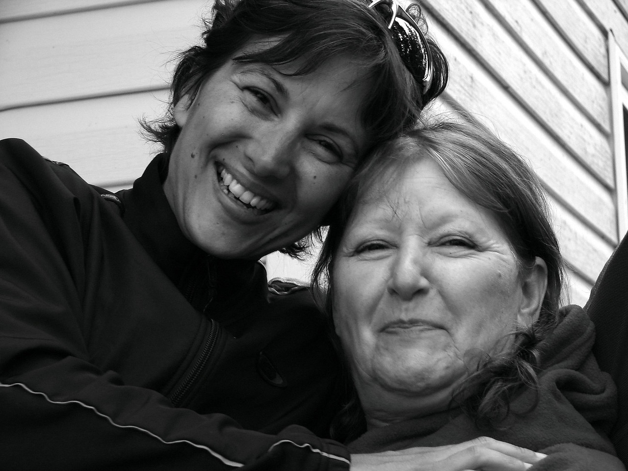 Me and my mom. Again...she is humoring me :)